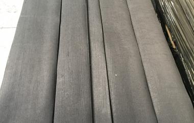 Oak, Quarter, Dyed Black